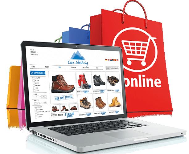 مميزات تصميم المتاجر الالكترونية